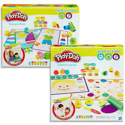 Play Doh Shape & learn - Textures Tools, Letters Language - Toys Games Kids 2+