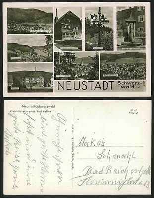 Germany Old Multiview RP Postcard BLACK FOREST Neustadt