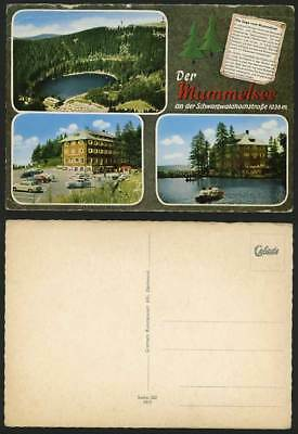 Germany Old Postcard BLACK FOREST Mummelsee - Car Park