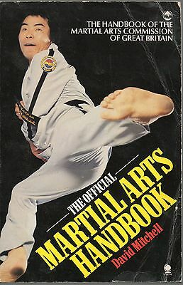 David Mitchell The Official Martial Arts Handbook First Edition Paperback 1984