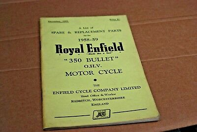 Motorcycle Manuals & Literature Vehicle Parts & Accessories 1954 ...