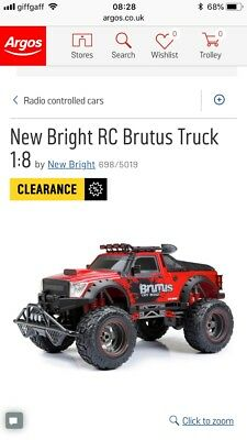 NEW BRIGHT RC Charger Jeep 1:18  - £19 99 | PicClick UK