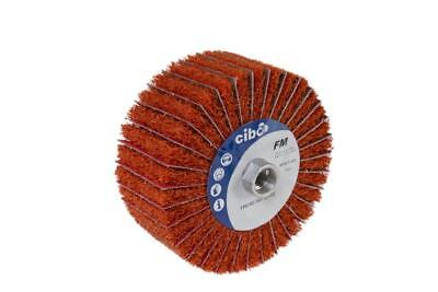 Ceramic Flap Wheel For  Edge Shaping, Scratch & Mill Scale Removal - 120 x 50mm