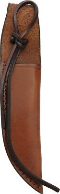 """SH1158 Leather Knife Sheath Brown Fits Up To 6"""" Fixed Blade"""