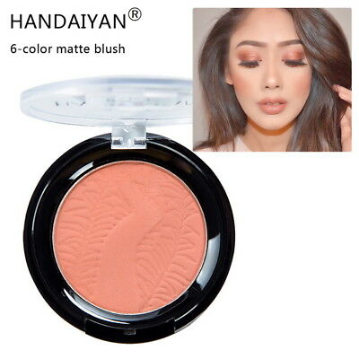 NEW 6 Color Matte Blush Rouge Brightening Complexion Nude Makeup Repair Powder