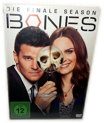 Bones - Die komplette finale Staffel/Season 12 [DVD] 3-Disc, Deutsch(e) Version