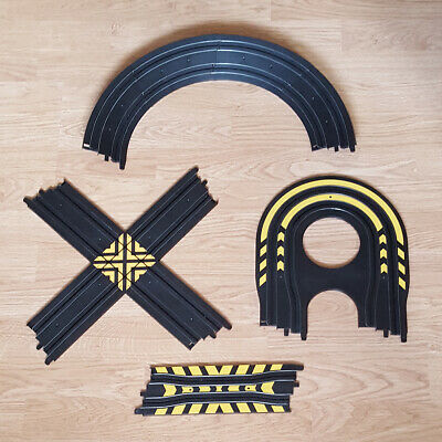 Micro Scalextric 1:64 Track - Crossover Hairpin Chicane Banked Curve