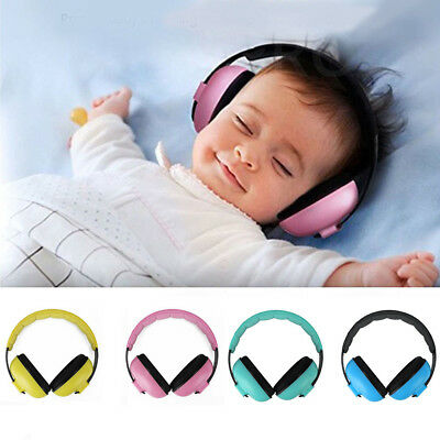 BABY Childs Ear Defenders Earmuffs Protection 4 COLOURS 3months+ Boys Girls