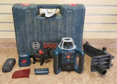 Bosch GRL300HV Self Leveling Rotating Laser w/ Layout Beam Pre-owned