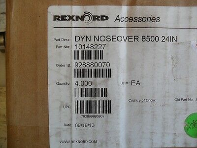Rexnord Dyn Noseover 8500 61cm Neuf 1014227