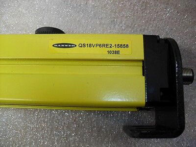 BANNER Safety Light Screen / Curtain QS18VP6RE2-15858 1038E NEW Free Ship