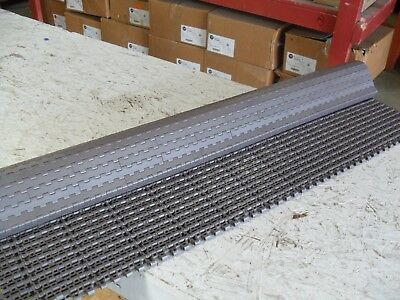 QTY 3' long x 3' wide, conveyor plastic chain belting, Rexnord new