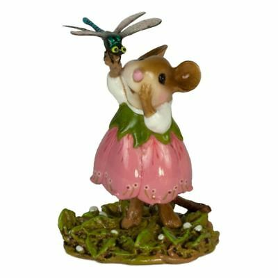 Wee Forest Folk M-643 Pretty Perch in Pink (New 2018)