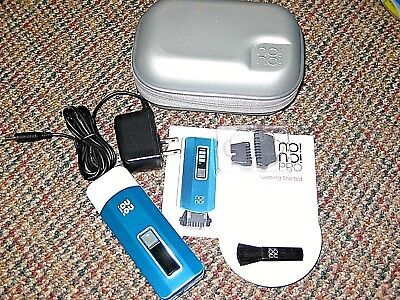 NONO Pro Hair Removal System BLUE w/Accessories no!no! Refurb