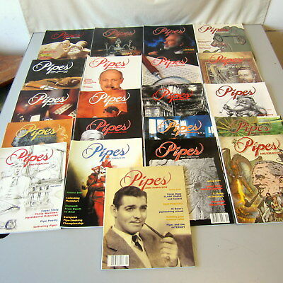 Lot 21 Back Issue Pipes and Tobaccos Magazine 1997 1998 1999 2000 2001 2002 2003