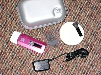 NONO Pro Hair Removal System PINK w/Accessories no!no! Refurb
