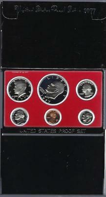 US 1977 Mint Proof Set as Issued by US Mint