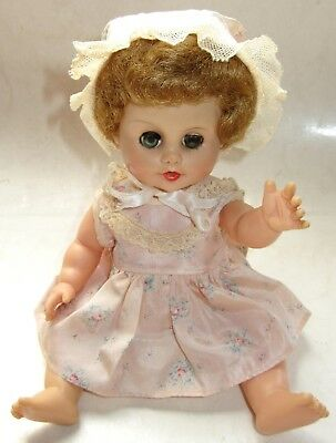 """Vintage EEGEE 12"""" Baby Doll w/Sleep & Cry Eyes - Also Drinks/Wets (or used to)"""