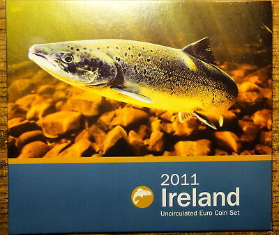 Ireland Official Issue Euro Coin Set 2011. Animals Of Irish Coinage.