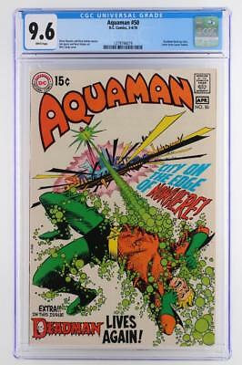 Aquaman #11 -NEAR MINT- CGC 9.6 NM+ DC 1970 - A Deadman App!!!