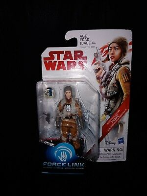 Brand new in box Star Wars Resistance Gunner Paige Force Link activated figurine