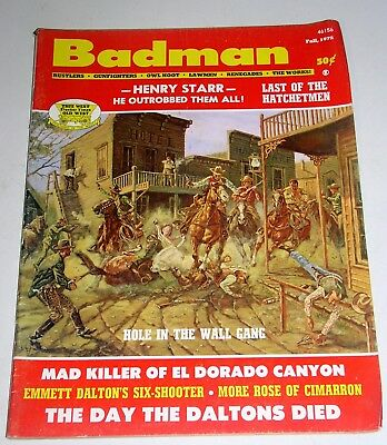 Western Frontier - Badman   Fall 1972  Hole In The Wall Gang & More