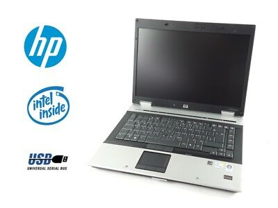 "HP Elite Book 8530P 15"" Intel Core 2 Duo P8600 2.4GHz 2GB RAM 160GB HDD"