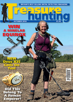Treasure Hunting Magazine October 2018