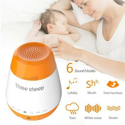 Baby Sleep Soothing Sound Machine Natural White Noise Sleep Aid Adjustable