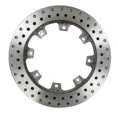 AFCO 9850-6120 Straight Vane Brake Rotor, Drilled, 11.75 x 1.25 Inch