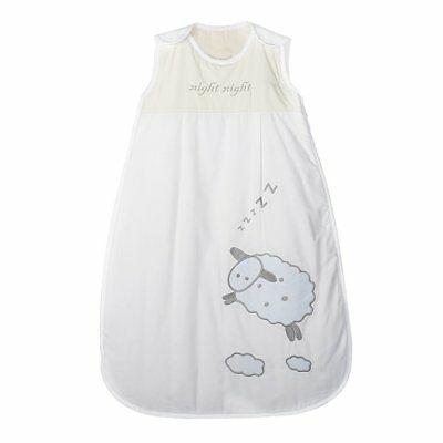 BEST Cotton Newborn Baby Sleeping Bag 2.5 Tog 0-6 months 70cm Night Night Sheep
