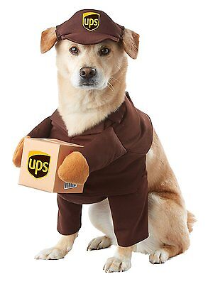California Costumes UPS Pal Mail Delivery Animal Dog Halloween Costume PET20151