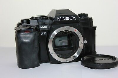 Minolta 9000 AF 35mm SLR Manual Film Camera Body.Tested Free Warranty