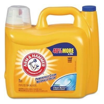 Cdc 3320000106 Dual HE Clean-Burst Liquid Laundry Detergent 210 oz. Bottle
