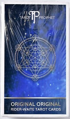 TAROT PROPHET Original Rider-Waite Tarot Cards Deck >NEW<