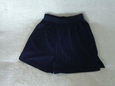 Boys Age 6 Years - Black School PE Shorts - TU