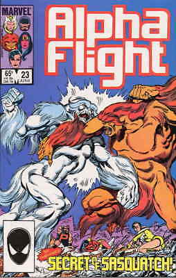 Alpha Flight (1st Series) #23 VF/NM; Marvel | combined shipping available - deta