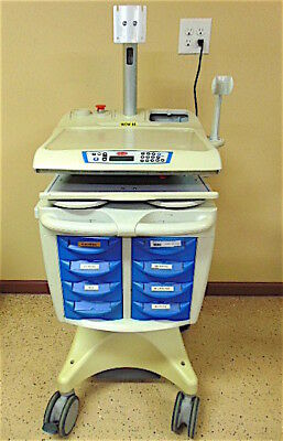 Rubbermaid Medical Solutions Cart With Monitor Mount Model 9M39-08-A55 - SR402