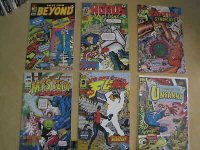 1963 : COMPLETE 6 ISSUE 1993 IMAGE SERIES by ALAN  MOORE, BISSETTE, TOTLEBEN etc