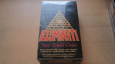 Inwo Illuminati New World Order Sealed American Booster Box Unlimited English