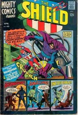 Mighty Comics #45 VG; Radio | low grade - save on shipping - details inside