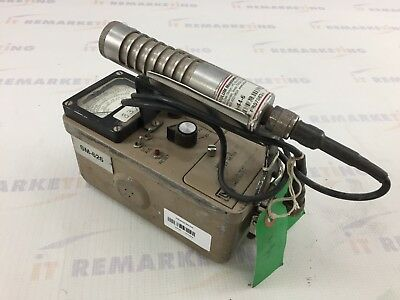 Ludlum Model 3 Portable Survey Meter Geiger Counter w/ 44-6 Probe READ - QTY