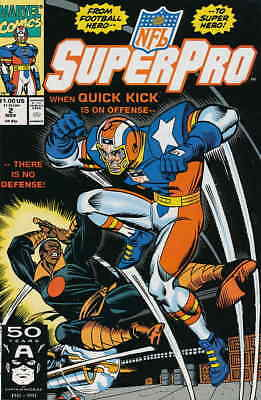 NFL Superpro #2 VF/NM; Marvel | combined shipping available - details inside
