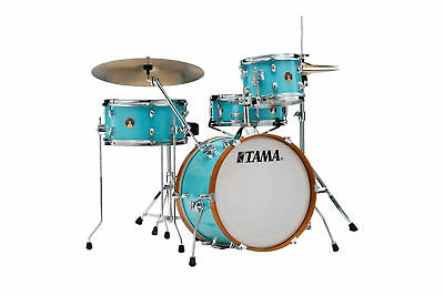 Tama LJK48S Club Jam Wrap 4pc Drum Shell Pack (Aqua Blue)