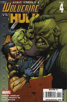 Ultimate Wolverine vs. Hulk #4 VF/NM; Marvel | combined shipping available - det
