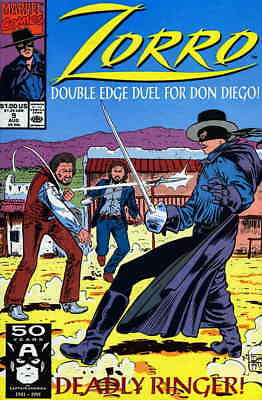 Zorro (Marvel) #9 FN; Marvel   combined shipping available - details inside