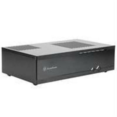 SilverStone Milo Series ML05B No Power Supply Mini-ITX HTPC Case - Black