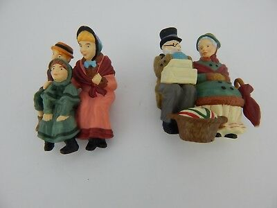 Dept 56 Dickens Village Sitting In Camden Park #58411 Partial Set (108)