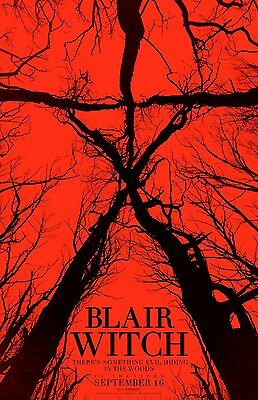 Blair Witch  - original DS movie poster - 27x40 D/S