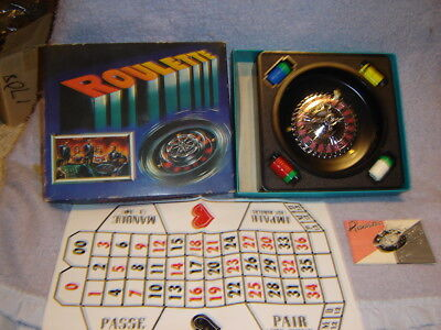 Vintage Mini Roulette game in original box *Made in JAPAN* #1500
